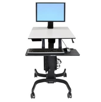 Ergotron WorkFit-C Single Light Duty Sit-Stand Workstation