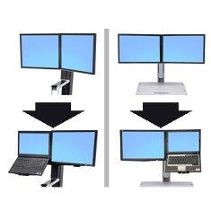 Ergotron Workfit - A Height Adjustable Work Stations