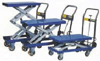 Scissor Lift Trolley - Foot Operated