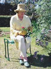 Gardeners Kneeler and Stool