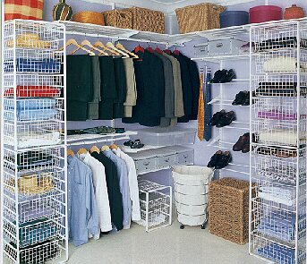 Elfa Wire Shelving And Drawers
