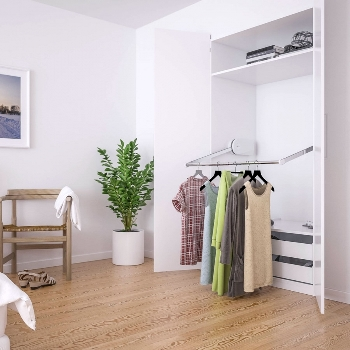 Adjustable Electric Wardrobe Lifting System - Butler 720