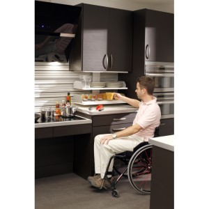 Adjustable Electric Internal Shelving System For Wall Cabinets - VERTI 830/831