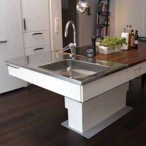 Adjustable Lifting Systems for Island/Kitchen Worktops - Electric