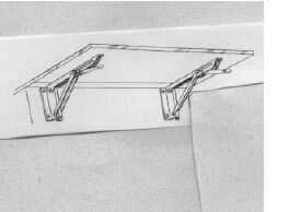 Folding Shelf Bracket