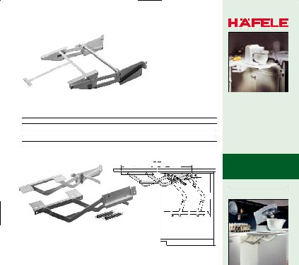 Hafele Swing Up Shelves