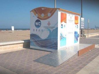 Esteva Mediterranean Accessible Public Toilet