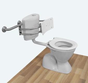 Eisegrip Toilet Backrest