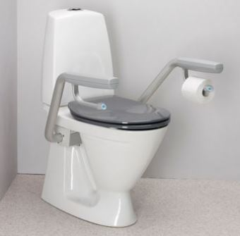 IFO Toilet Suite With Support Arms