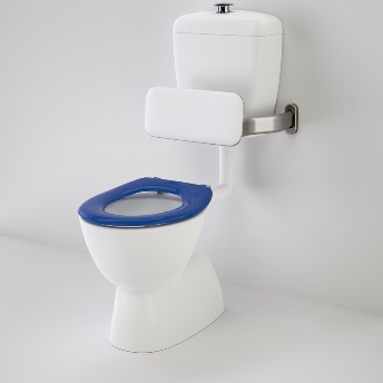 Caroma Care 400 Toilet Suite with Backrest