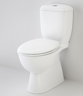 Caravelle Easy Height Close Coupled Toilet Suite with Orbital Connector
