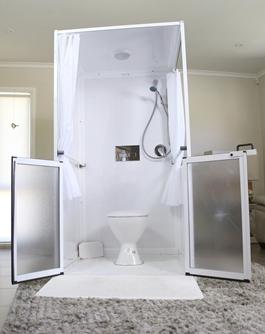 Careport Shower / Toilet System