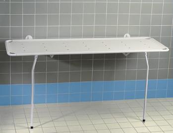 Reval Wall Mounted Hinged Shower Stretcher