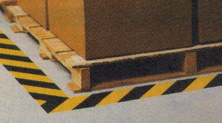 Hazard Stripe Anti-Slip Tapes & Treads