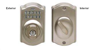 Schlage Range of Keypad Locks and Deadbolts