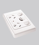 Clipsal 2025RC Protected Power Outlet