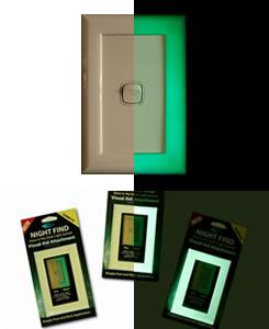 Glow In The Dark Light Switch Surround