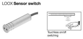 Hafele LOOX Range of LED Light Switches | Assistive