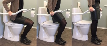 Ropox Toilet Support - Wave