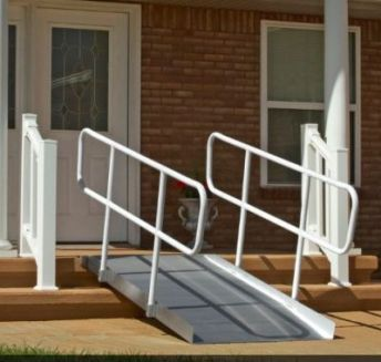 PVI Ontrac Wheelchair Ramps With Handrails