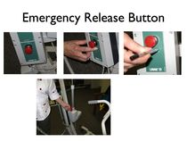 Hoists emergency features
